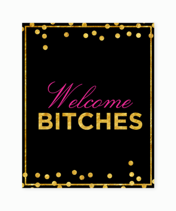 welcomebitches