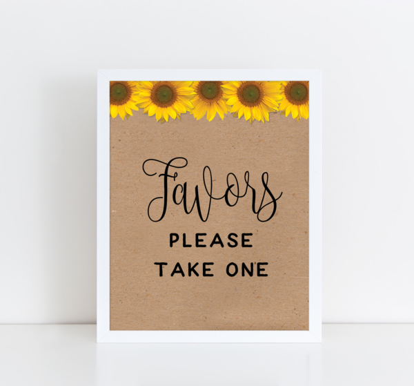 sunflowerfavors