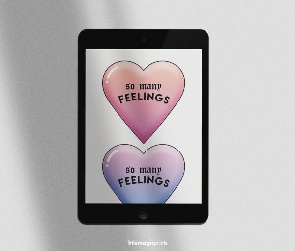 feelingsheartsclipart