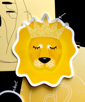 lionqueensticker