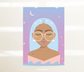 piscesgirlcard
